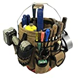Readywares Waxed Canvas Tool Bucket Organizer