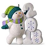 Hallmark Keepsake Christmas Ornament 2018 Year Dated, Frosty Fun Decade