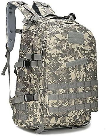 BIBU 50L Military Tactical Backpack Large 3 Day Assault Pack Rucksacks  Molle Bug Out Bag for 212be828f0d53