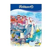 Pelikan 236812 - Bloc de acuarela (A4, 20 hojas, 1 unidad)