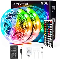 Daybetter 5050 RGB Infrared Remote Control Color Changing Led Strip Lights