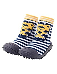 Baby Socks With Rubber Soles Infant Toddler Non-slip Breathable Cotton Shoes Socks