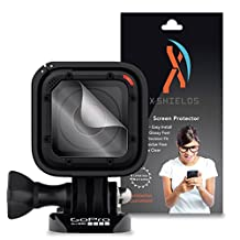 XShields© High Definition (HD+) Screen Protectors for GoPro Hero 4 Session Lens (Maximum Clarity) Super Easy Installation [5-Pack] Lifetime Warranty, Advanced Touchscreen Accuracy