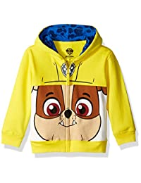Nickelodeon boys Toddler Boys Paw Patrol Character Big Face Zip-up Hoodies