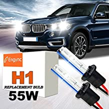 Engync® 55W H1 Xenon HID Replacement Bulbs   Hi/Low 6000K Diamond White Color