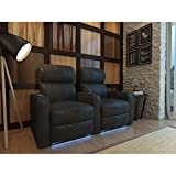 Octane Turbo XL700 Black Bonded Leather with