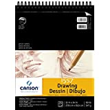 Canson Artist Series 1557 Cream Drawing Paper Pad for Pen, Ink and Graphite Pencil, Top Wire Bound, 90 Pound, 11 x 14 Inch, Cream, 24 Sheets