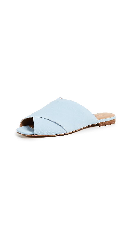 Rebecca Minkoff Women's Anden Peep Toe Flats B07B24MC2F 8 B(M) US|Cloud