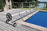 VINGLI Swimming Pool Cover Reel Set Inground Pool