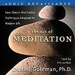 The Art of Meditation   Daniel Goleman