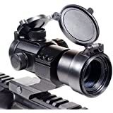 Rhino Tactical Green & Red Dot Sight for Rifles & Shotguns by Ozark Armament - Includes Picatinny Cantilever Mount...