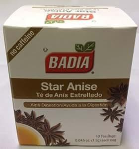 Anise tea bags