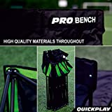 QuickPlay PRO Folding Bench - 9 Seats – New