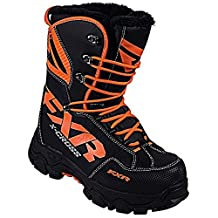 FXR Racing X-Cross Snowmobile Boots Black/Orange Mens 11 by FXR