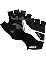 Cycling Gloves Mountain Bike Gloves Bicycle Half Finger Riding Gloves with Shock-Absorbing Pad Biking Gloves for fit Men and Women
