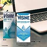 Visine Dry Eye Relief Lubricant Eye Drops to