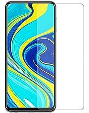 لاصقة سكرين حماية شفافة للشاشة زجاجية لهاتف شاومي ريدمي نوت 9 اس | Note 9s