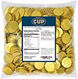 By The Cup Chocolate Gold Coins 5 lb Bulk Bag
