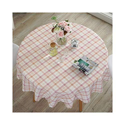 A 220cm Nappe imperméable rectangulaire, tissu mélangé avec nappe imprimée pour table de salle à hommeger table basse 8 tailles au choix, convenant à la décoration de table à hommeger familiale de table