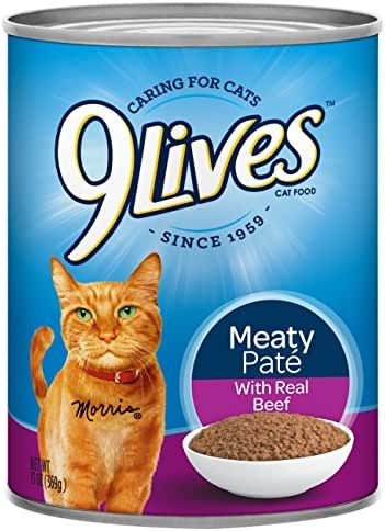 9Lives Meaty Pate