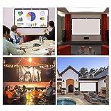 Projector Screen 120 inch 16:9 HD Foldable