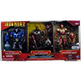 Iron Man 2 Movie Exclusive Concept Series 4 Inch Action Figure 3Pack Artic Crusader Iron Man, Star F