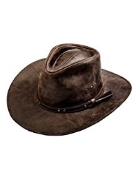 Sterkowski Cattle Leather Classic Western Cowboy Outback Hat