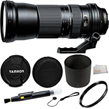 Tamron AFA011C700 SP 150-600mm F/5-6.3 Di VC USD Zoom Lens for Canon EF Cameras + Accessory Kit
