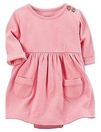 Carters Vestido rosa (3-24 M) Vestido para Niñas