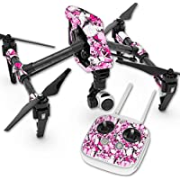 Skin For DJI Inspire 1 Quadcopter Drone – Butterflies   MightySkins Protective, Durable, and Unique Vinyl Decal wrap cover   Easy To Apply, Remove, and Change Styles   Made in the USA