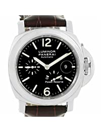 Officine Panerai Luminor automatic-self-wind mens Watch PAM00090 (Certified Pre-owned)