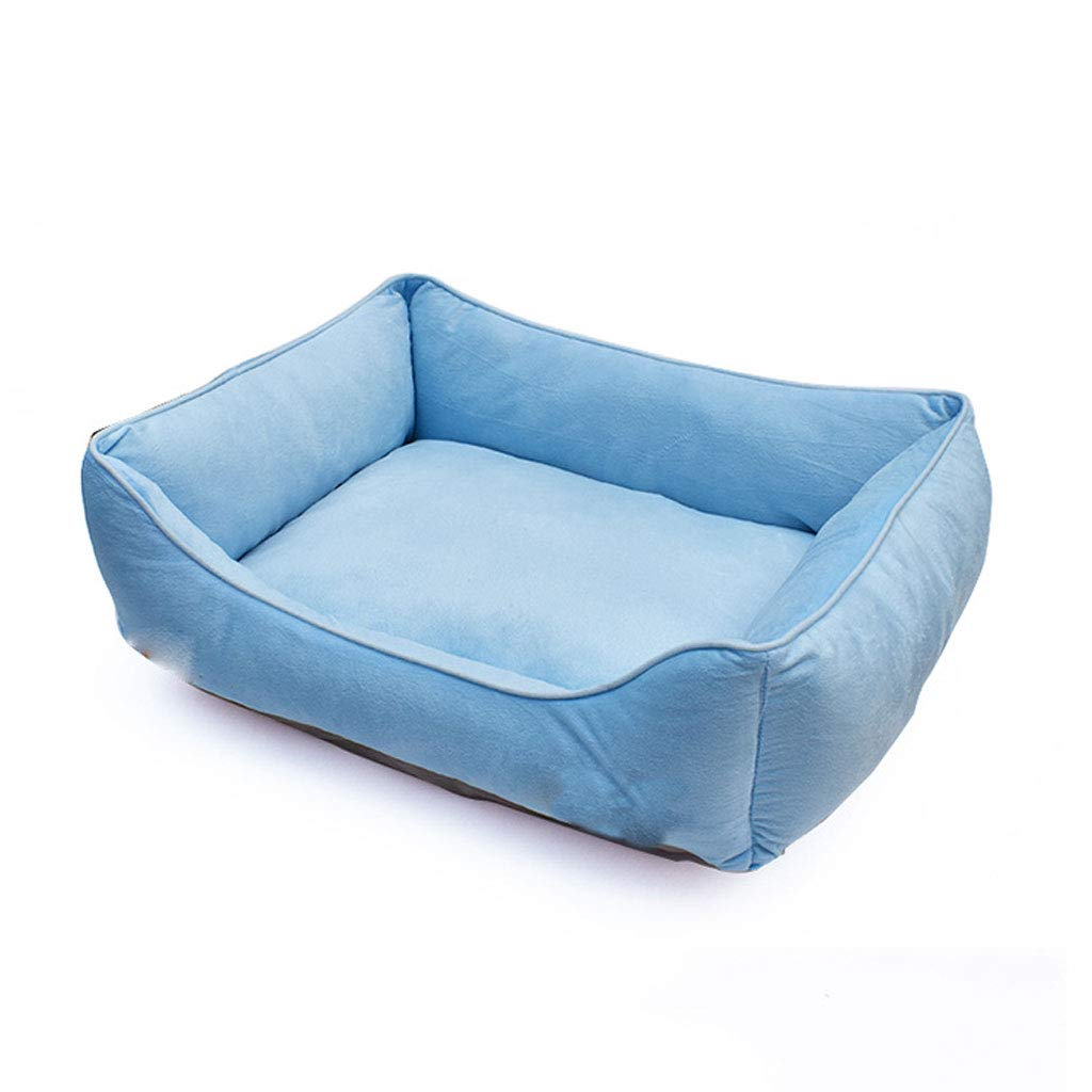 LJM- Pet Bed, Removable & Washable Cover W Zippers, Shop A Whole Bed with Cover for Change