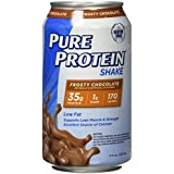 Rein Protein Shake Frosty Chocolate Protein Shakes 35 Grams of Protein per Shake Excellent Source of Calcium 12-11-Ounce Cans