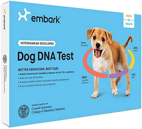 Dog Medication & Health Supplies: Embark Dog DNA Breed & Health Kit