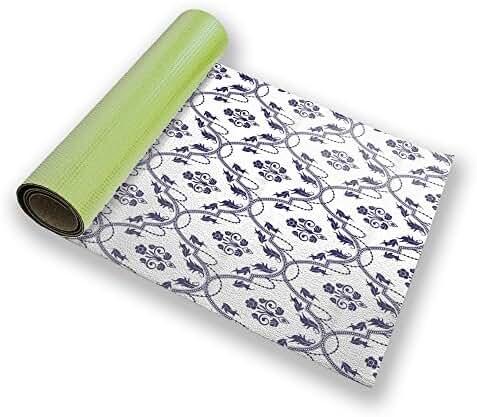 Rocko Blue Yoga Mat Custom Printed Premium