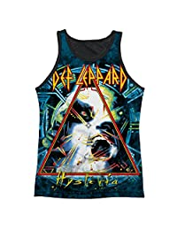 Def Leppard Hysteria Mens Tank Top Shirt with Black Back