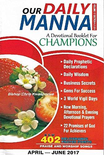 Our Routine Manna April - June 2017 Edition