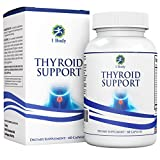 Thyroid Support Supplement - (Vegetarian) - natural blend of Vitamin B12, Iodine, Zinc, Selenium, Ashwagandha Root, Copper, Coleus Forskohlii & more - 30 Day Supply
