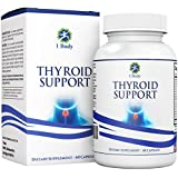 Thyroid Support Supplement with Iodine - Metabolism, Energy and Focus Formula - Vegetarian & Non-GMO - Vitamin B12 Complex, Zinc, Selenium, Ashwagandha, Copper, Coleus Forskohlii & more 30 Day Supply