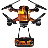 Skin for DJI Spark Mini Drone Combo - Sunset| MightySkins Protective, Durable, and Unique Vinyl Decal wrap cover | Easy To Apply, Remove, and Change Styles | Made in the USA