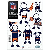 NFL Unisex Small Family Decal Set
