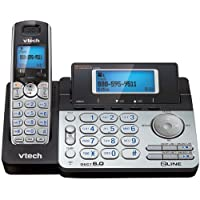 Vtech Dect 6.0 Cordless 2-Line Phone System With Digital Answering System (Single-Handset System) Product Type: Dect Telephones/Dect Telephones
