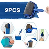 9Pcs Paint Roller Set, LIUMY Paint Runner Kit