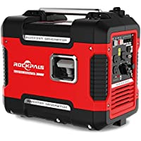 Rockpals 2000 Watt Gasoline Portable Generator With 9 Hours Run time