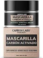 Mascarilla de Carbon Activado- Absorbe grasas y limpia impurezas-Elimina brillos indeseados- Disminuye Poros-