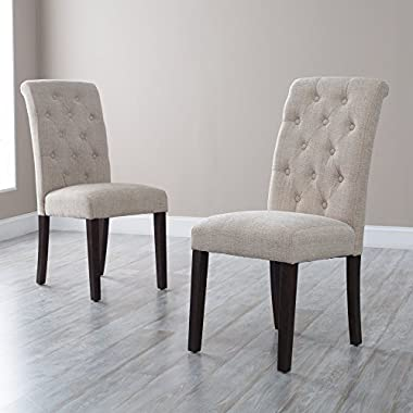 Tufted Parsons Dining Chairs - Set of 2