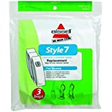 2 X BISSELL Style 7 Vacuum Bag, 32120 Size: 9 IN PackageQuantity: 2 Model: