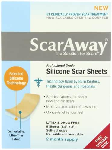 Scaraway Professional Grade Silicone Scar Treatment Sheets 1.5