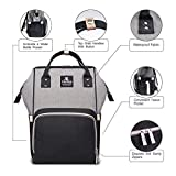 Hafmall Diaper Bag Backpack - Waterproof