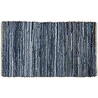VHC Brands Coastal Farmhouse Flooring - Denim & Hemp Blue Chindi/Rag